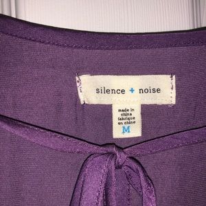 Urban Outfitters purple blouse